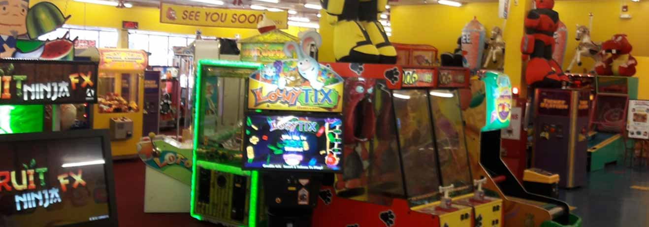 Arcade games at The People's Choice