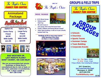 Group packages info